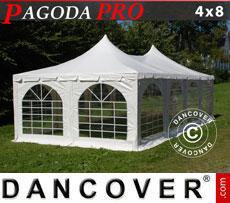 Tendone per feste Pagoda PRO 4x8m, PVC