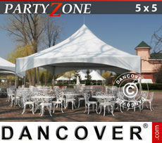 Tendone per feste PartyZone 5x5 m PVC