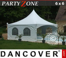 Tendone per feste PartyZone 6x6 m PVC