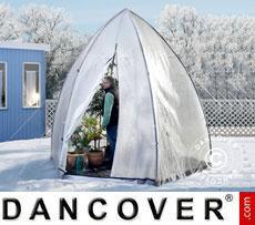 Tenda Invernale per la Protezione delle Piante, Tropical Island L, Ø2,4x2m