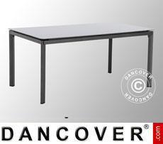 Tavolo da giardino, Alutapo, 95x160x74cm, Grigio