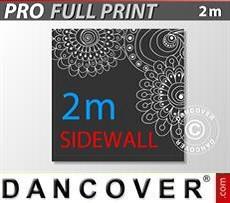 Pareti laterali stampate 2m per FleXtents PRO