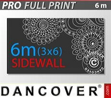 Pareti laterali stampate 6m per FleXtents PRO 3x6m