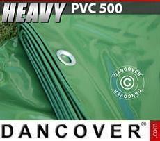 Telo 10x12m PVC 500 g/m² Verde