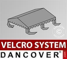 Copertura per il tetto del Tendone per Feste UNICO, PVC/Poliestere, 4x4m, Grigio…