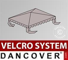 Copertura per il tetto del Tendone per Feste UNICO, PVC/Poliestere, 3x3m, Sabbia…