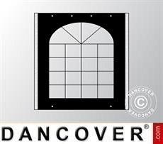 Parete laterale con finestra per il Tendone per Feste UNICO, PVC/Poliestere, 3m,…