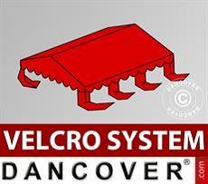 Copertura per il tetto del Tendone per Feste UNICO, PVC/Poliestere, 3x6m, Rosso…