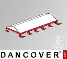 Copertura del tetto per il Tendone per feste Exclusive 6x10m PVC, Bianco /…