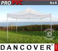 Tendoni Gazebi Party PRO 3x6m Rosso, incl. 6 tendaggi decorativi