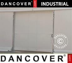 Portone scorrevole per Magazzino Industriale, 4,70m, PVC, Bianco