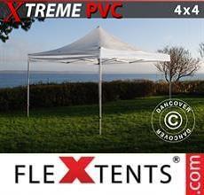 Gazebo pieghevole Xtreme 4x4m Trasparente