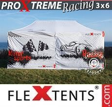Gazebo pieghevole PRO Xtreme Racing 3x6m, edizione limitata