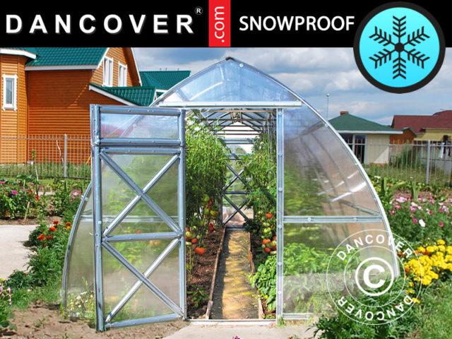 sneeuwbestendige broeikassen, broeikassen, sneeuwbestendige broeikas, Dancover, Dancovershop.com, sneeuwbestendige broeikas