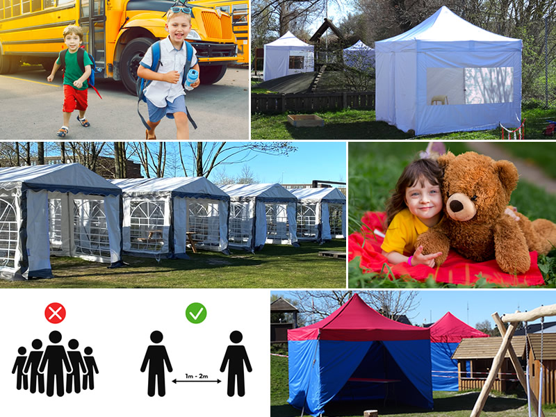 sosiale distanseringen, teltene, partyteltene, quick-up teltet FleXtents, quick-up teltet, FleXtents, partytelt, telt, Dancover, Dancovershop