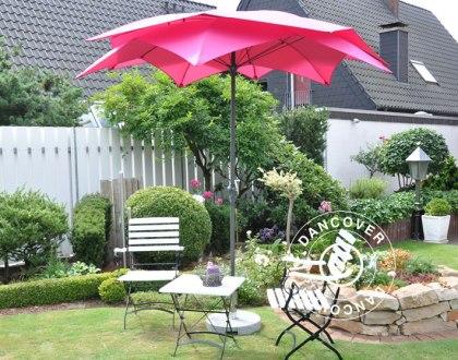 Trädgårdsparasoll i alla färger och storlekar