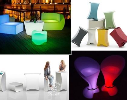 Snygga möbler till ditt nästa event