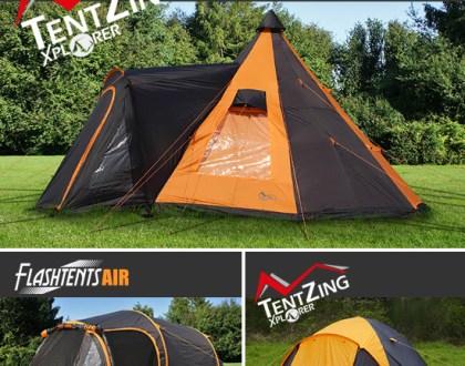 Campingtält för en fantastisk utomhusupplevelse