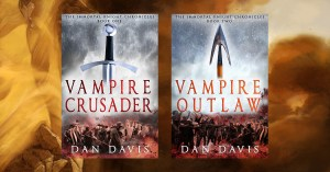 Immortal Knight paperback covers