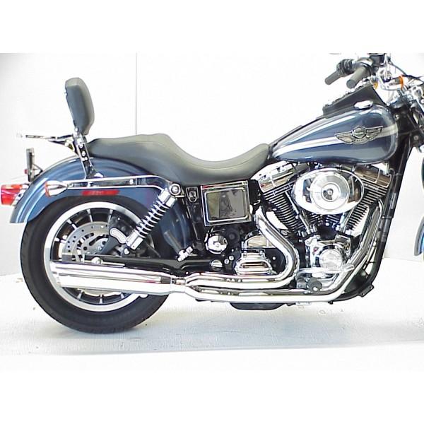 1995 2005 harley dyna boarzilla 2 1 full exhaust system