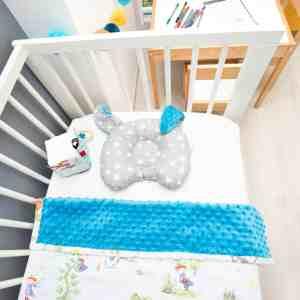 Pui de perna BABY Iepurasul cu urechi albastre