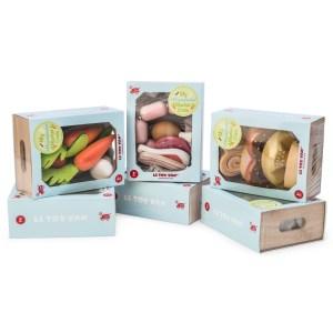 Ladita din lemn cu fructe - Le Toy Van