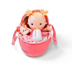 jucarie bebe cu cosulet