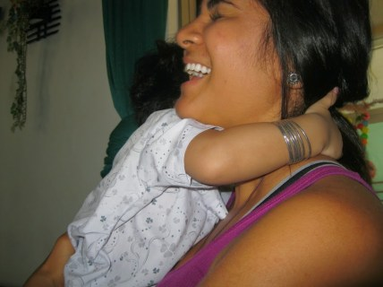Love hugs with Chau