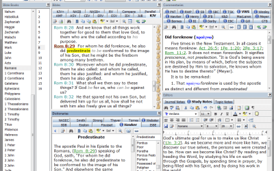 e-Sword // Free Bible Study Software