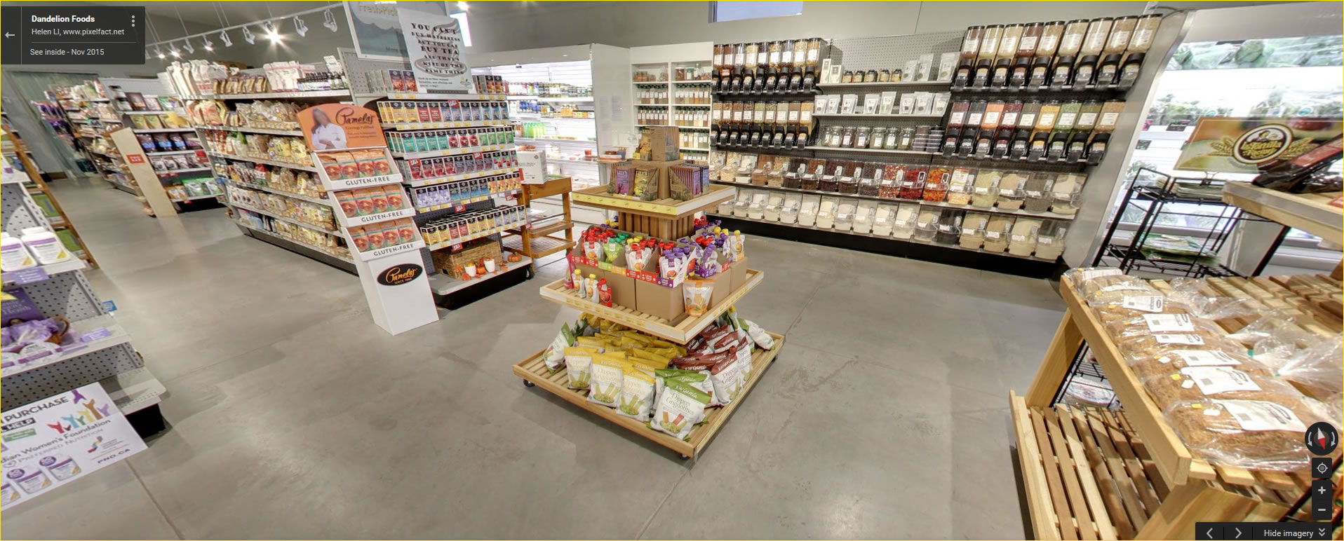 Click for a Google virtual tour of Dandelion Foods