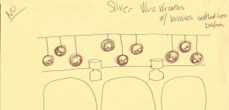 Patina - Silver Wire Wreaths Option