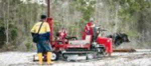 Terrier sampling mineral sands for Green Gold Engineering