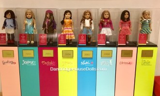 Girl of the Year Displays