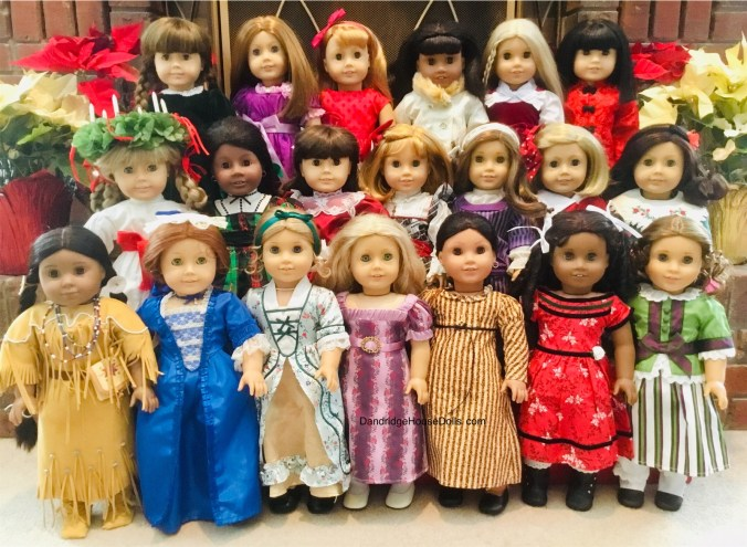 Historical Dolls of Dandridge House Dolls