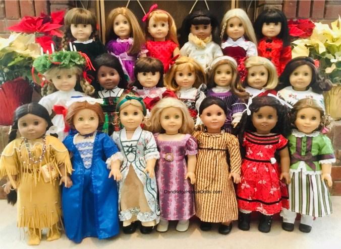 Historical Dolls of Dandridge House Dolls