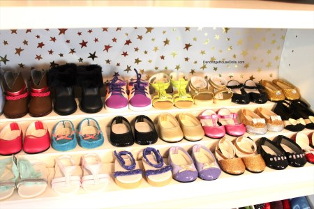 American Girl Doll Storage Clothes Shoes Organization Closet