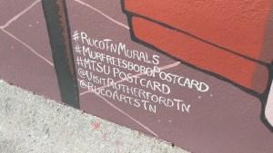 #RuCoTNMurals #MurfreesboroPostcard #MTSUPostcard @VisitRutherfordTN @RuCoArtsTN