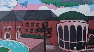 Murfreesboro's Vine Street Marketplace Mural section 4