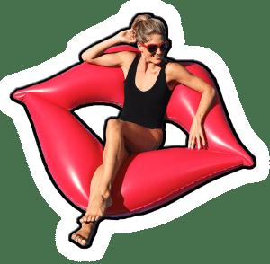 inflatable lips