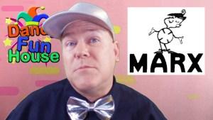 neil dandy with marx toys logo