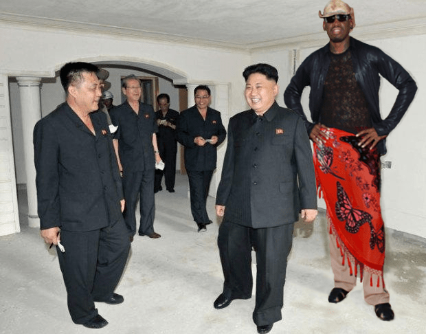 Image result for pics dennis rodman jan 2017 in n korea