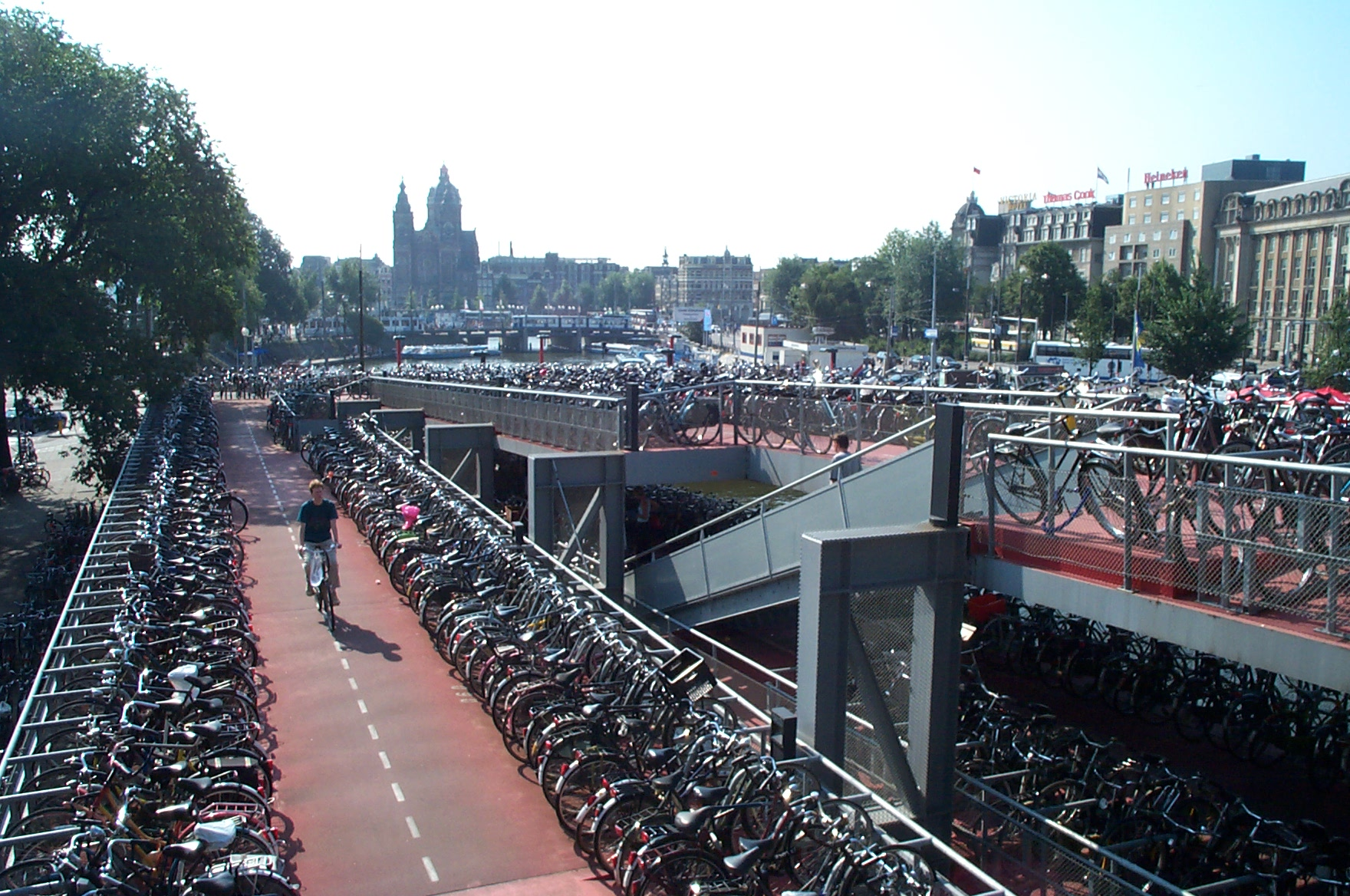 Image result for amsterdam better cycling infrastructure