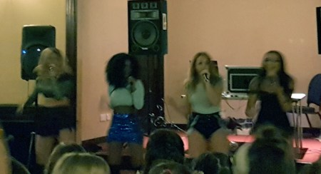 A poor pic taken from a distance, but it gives you an idea of what Little Mix Magic look like!
