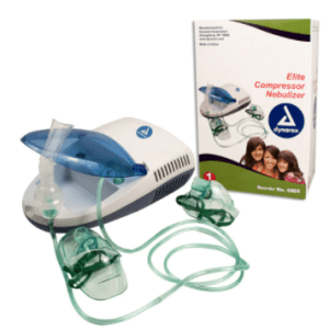 5605 Dynarex Nebulizer Elite Compressor, 4/Case