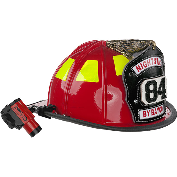 Safe Helmet-Mounted Dual-Light