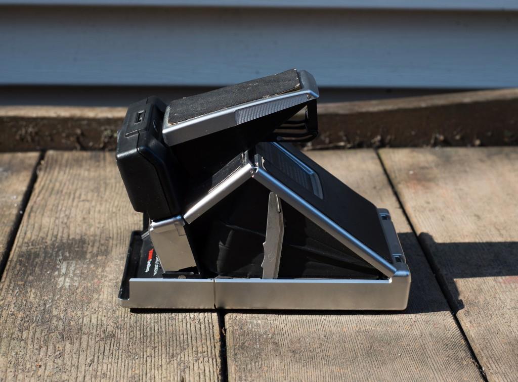 SX-70 Land Camera Sonar Side