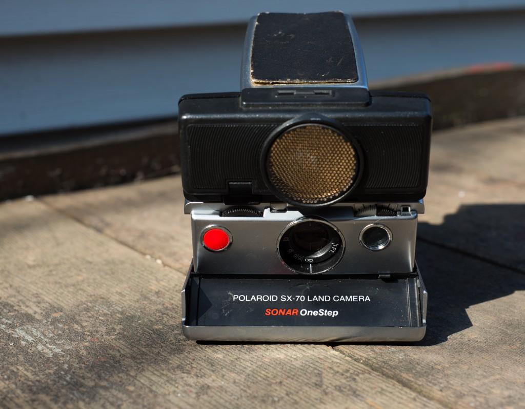SX-70 Land Camera Sonar Front