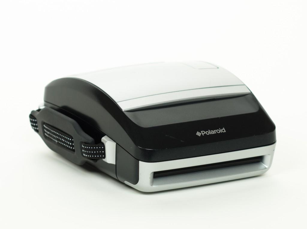 Polaroid One 600 folded