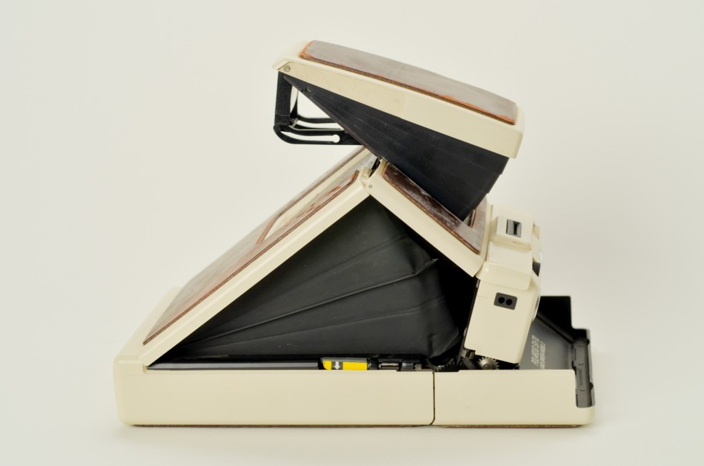Polaroid SX-70 Land Camera Model 2 - side