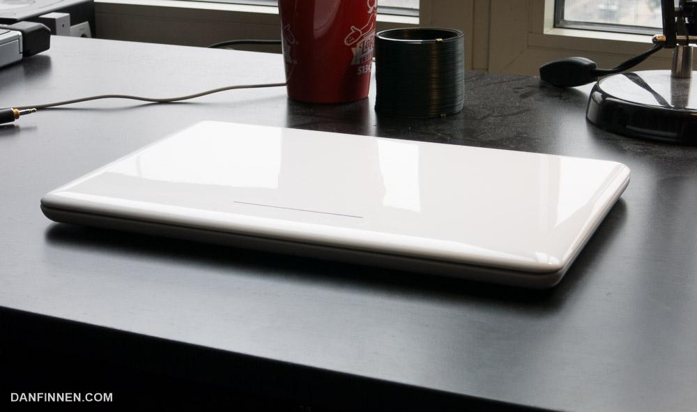 The Chromebook sleeps...